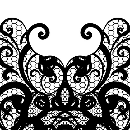 retro lace: vector lace background Illustration