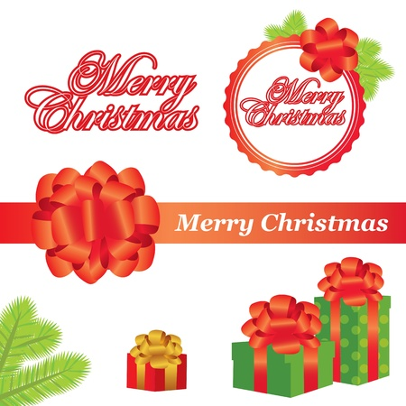 Christmas elements Stock Vector - 16641332
