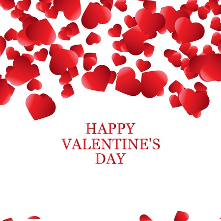 Valentine s Day card, banner Vector