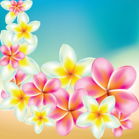 vector background with flowers Stock Vector - 17780937