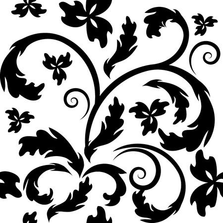 luxurious seamless wallpaper: vector seamless vintage pattern