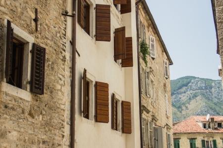 streets of Kotor, Montenegro photo