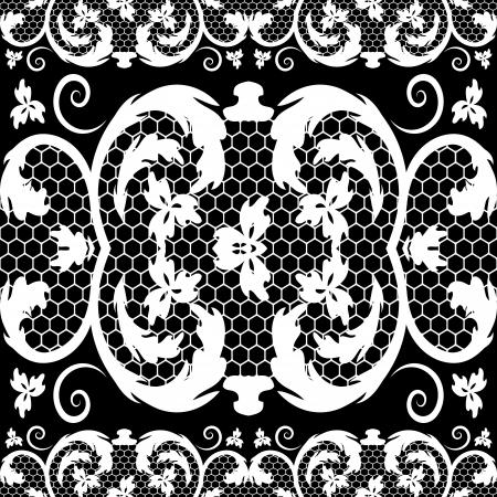vector vintage lace Vector