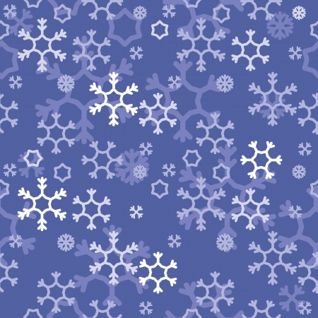 vector abstract background with snowflakes Vector