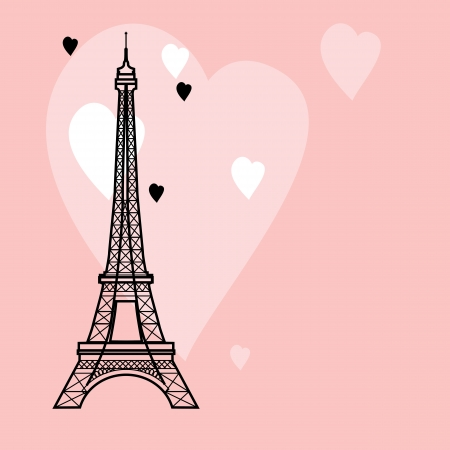 illustration of the Eiffel Tower Vector
