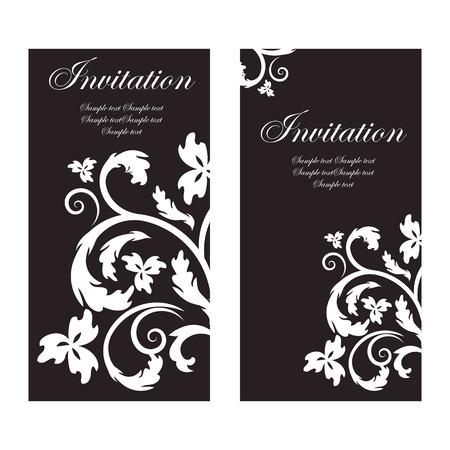 vector vintage invitation Vector