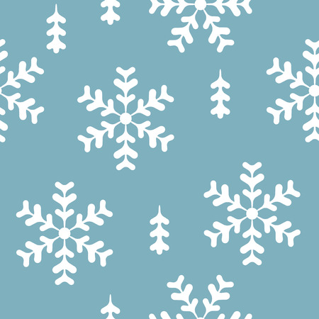 repeated: vector seamless pattern winter, christmas