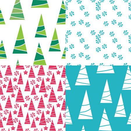 Seamless vector Christmas pattern Vector