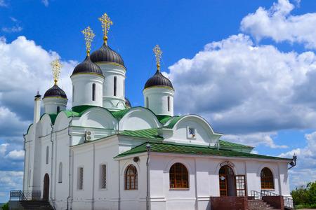 minin: orthodox church with blue sky background Stock Photo