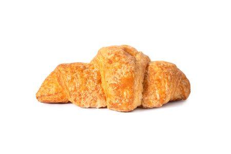 Classic French croissant sweet pastries, breakfast for breakfast. Zdjęcie Seryjne - 130954600