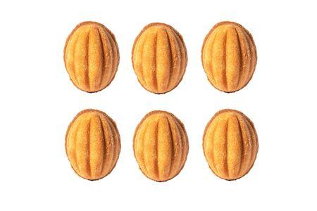 Shortbread sweet cookies with condensed milk filling. Zdjęcie Seryjne - 130954599