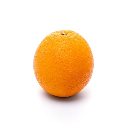 Natural Fruit Orange isolate on white