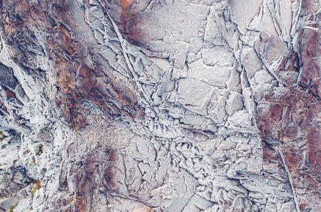 ural: The frozen wall of the ural rock