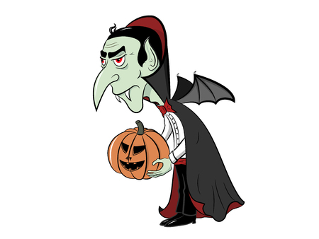 vlad: Count Dracula is ready for the Halloween Illustration