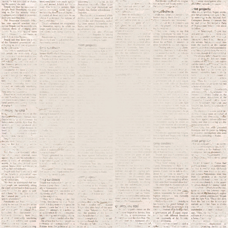 Old paper newspaper grunge background with space for text. Vintage background Stock Photo