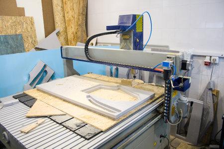CNC 라우터 머신은 주거 단지의 레이아웃을 만듭니다