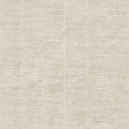 Vintage newspaper texture seamless pattern. A newspaper page illustration from a vintage old Russian newspaper. Gray beige collage newspaper background.