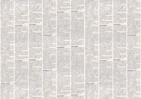Old newspaper paper texture background. Blurred vintage newspaper background. Aged paper textured page. Gray collage news paper background. Standard-Bild