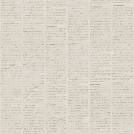 Old blur grunge unreadable vintage newspaper paper texture square background. Blurred vintage newspaper background. Aged paper textured page. Gray beige collage news seamless paper pattern.