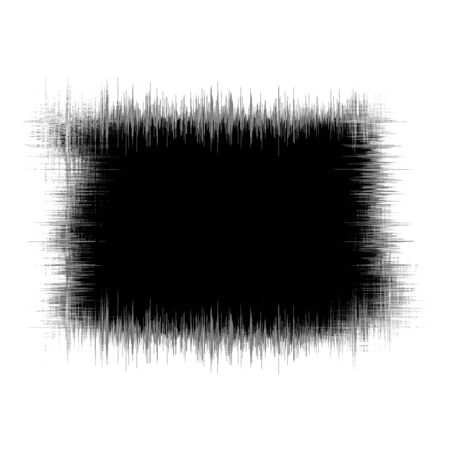 Abstract black ink stain spot blot background. Grunge texture with space for text.