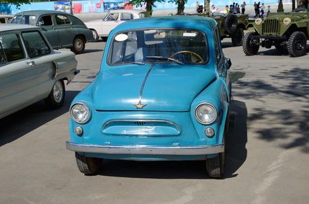 enea: Moscow, Russia - may 20, 2015: The car Zaporozhets ZAZ-965 at ENEA Editorial