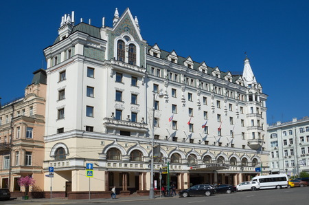 petrovka: Moscow, Russia - may 6, 2016: Marriott Moscow Royal Aurora
