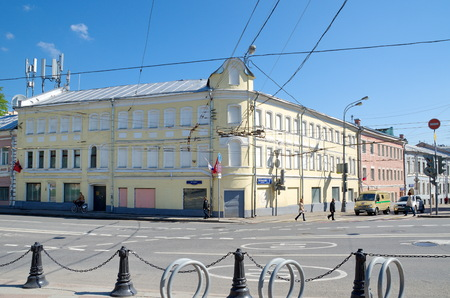 petrovka: Moscow, Russia - may 6, 2016: Historical building at Petrovka street Editorial