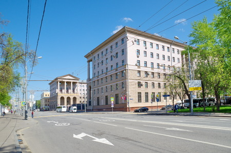 petrovka: Moscow, Russia - may 6, 20116: General Directorate of the Ministry of internal Affairs of Russia in Moscow, Petrovka street, 38