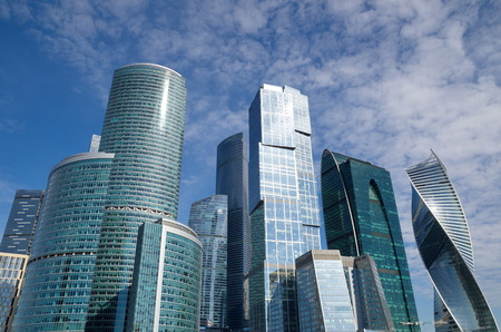 Business center Moscow-city, Moscow, Russia