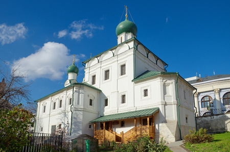 Church of Maximus the blessed in Varvarka, Moscow, Russia