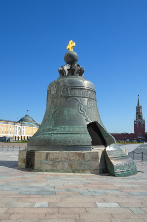 spasskaya: The Tsar bell in the Moscow Kremlin, Moscow, Russia