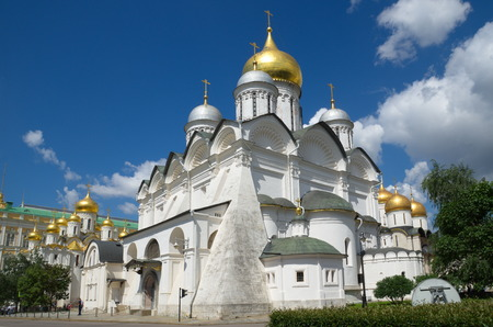 Archangel Cathedral in the Moscow Kremlin, Russia