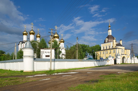 Nikolsky Monastery is a Russian Orthodox monastery in Pereslavl-Zalessky, Russia. Golden Ring of Russia