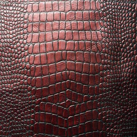 imitation leather: Crocodile leather texture Stock Photo