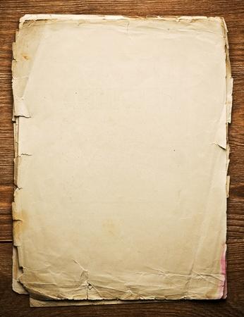 cartas antiguas: antiguo libro sobre marr�n textura de madera con patrones naturales