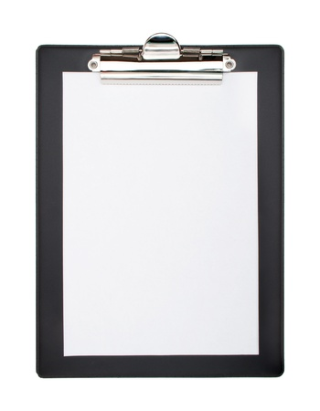 do: Clip board and papers