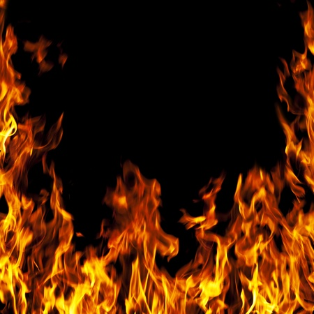perfect fire background  photo