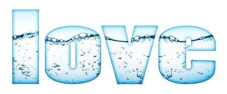 water wave love photo