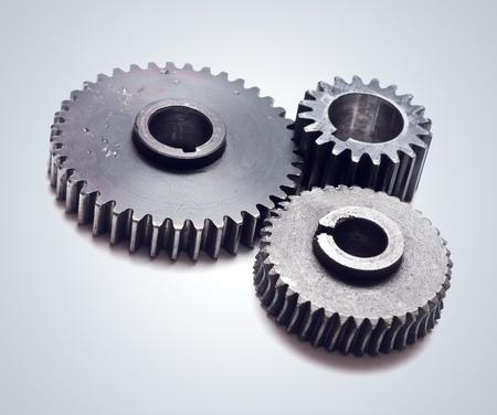 cogwheels: Assorted metal gears