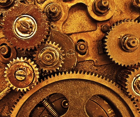 old gearing Stock Photo - 10867174