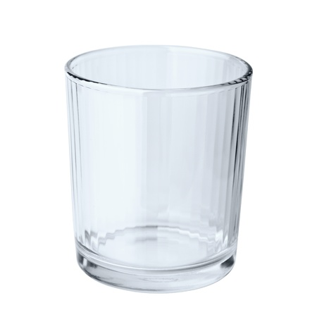 Empty glass isolated on a white background Stock Photo - 10866535