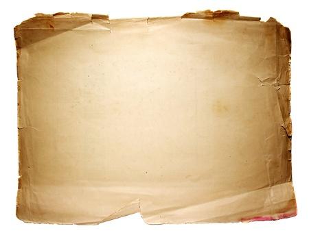 paper old: old paper sheet