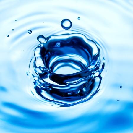 Water drop close up Stock Photo - 10867094