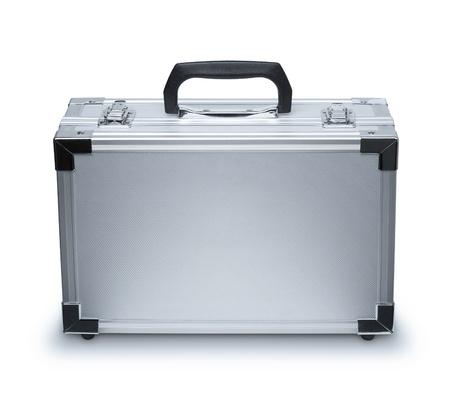 Aluminum suitcase photo
