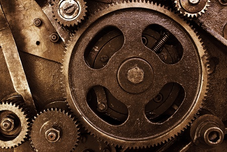 Cog and wheel details from machines Stock Photo - 11316617