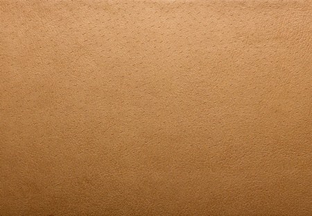brown clothes: Leather texture closeup Stock Photo