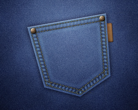 cloth back: Jeans texture