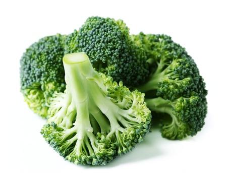 broccoli: Broccoli on White Background