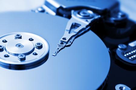 harddisk: close up of hard disk Stock Photo