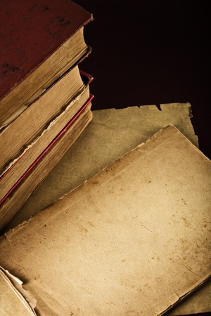 Very Old Book closeup photo